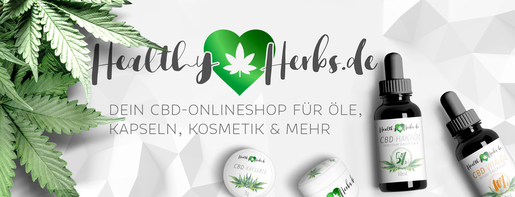 CBD online shop Healthy Herbs