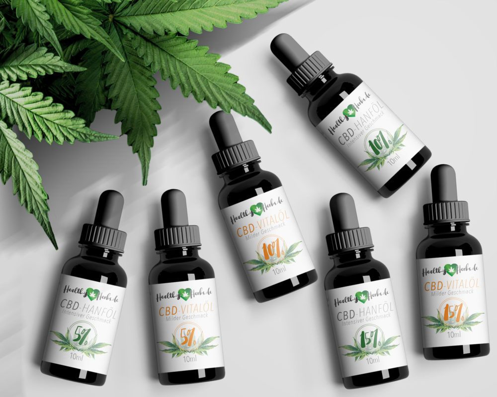 Kennenlernpaket Healthy Herbs 5% und 10%