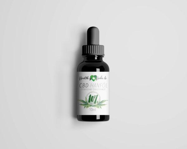 25 x Healthy-Herbs CBD-Hanföl 10% 10ml - 1000mg CBD