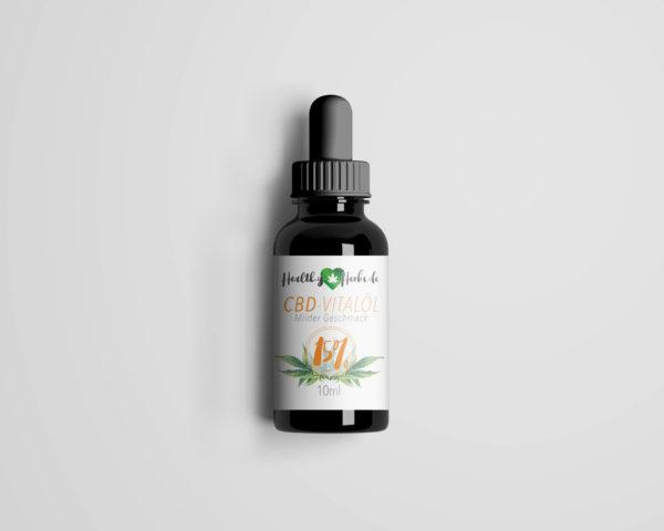 25 x Healthy-Herbs CBD-Vitalöl 15% 10ml