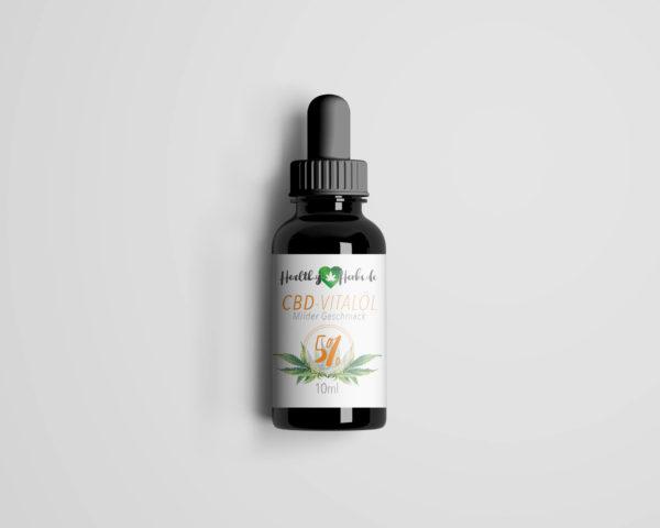 25 x Healthy-Herbs CBD-Vitalöl 5% 10ml