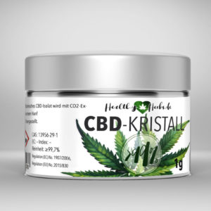 25 x Healthy-Herbs CBD-Kristall
