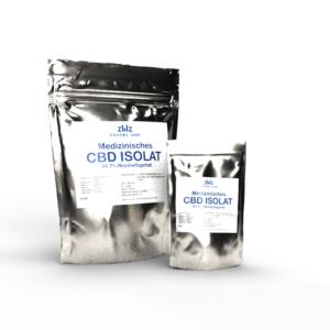 Zertifiziertes, Medizinisches CBD Kristall Isolat | 1 Gramm