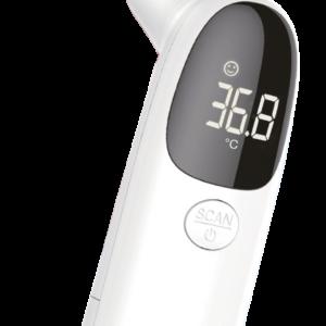 Digitales LCD Infrarot Fieber Ohren- & Stirnthermometer