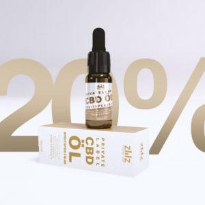 Private Label CBD Öl Breitspektrum 20%