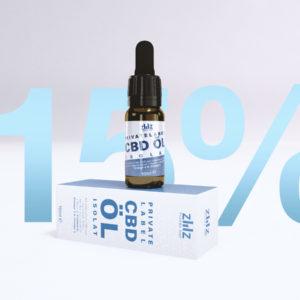 Private Label CBD Öl Isolat 15%